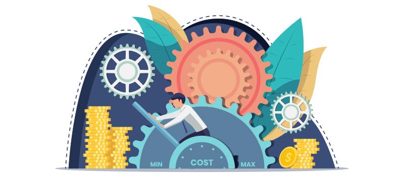 Money machine cartoon